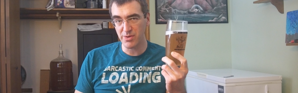 Home-brew Wednesday #5 – Not Moon Man Tasting